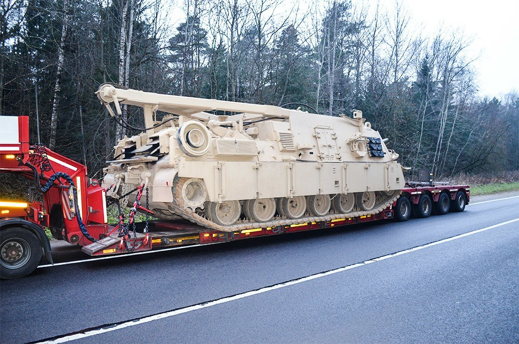 Transportation of military freights