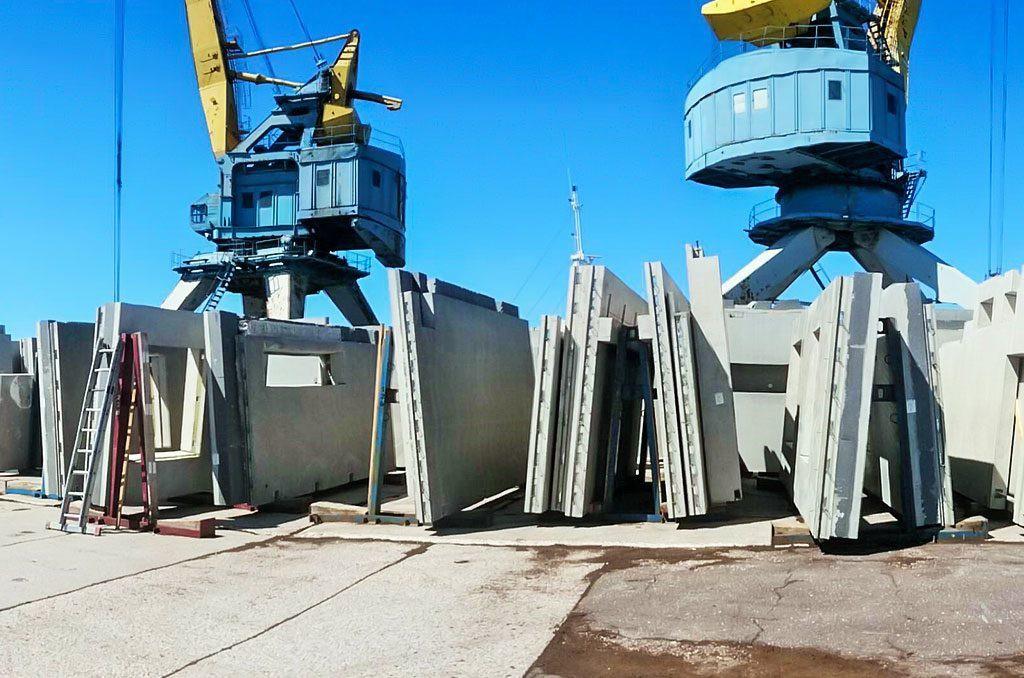 Reinforced concrete transportation