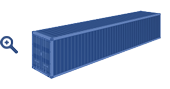 40 ft standard container