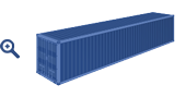 40 ft Pallet Wide container