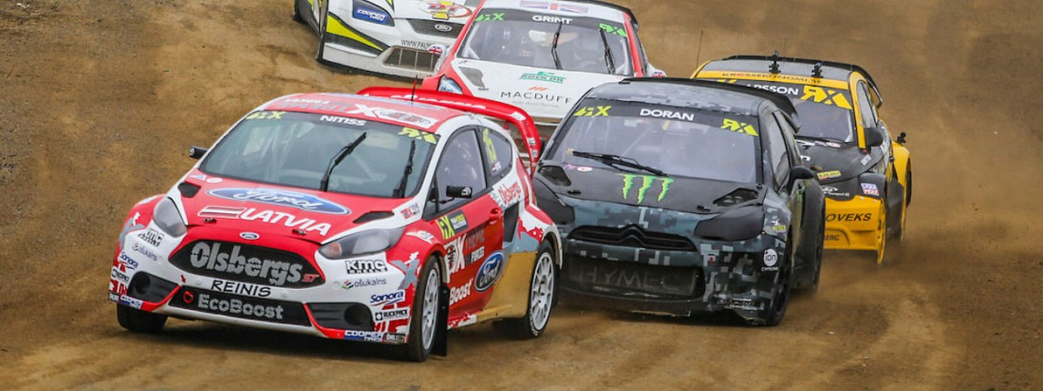 Together with Reinis Nitišs in Canada, FIA World RX