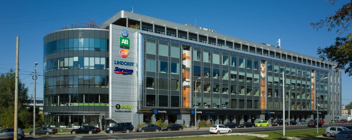 Changement de l'adresse légale des bureaux de Riga