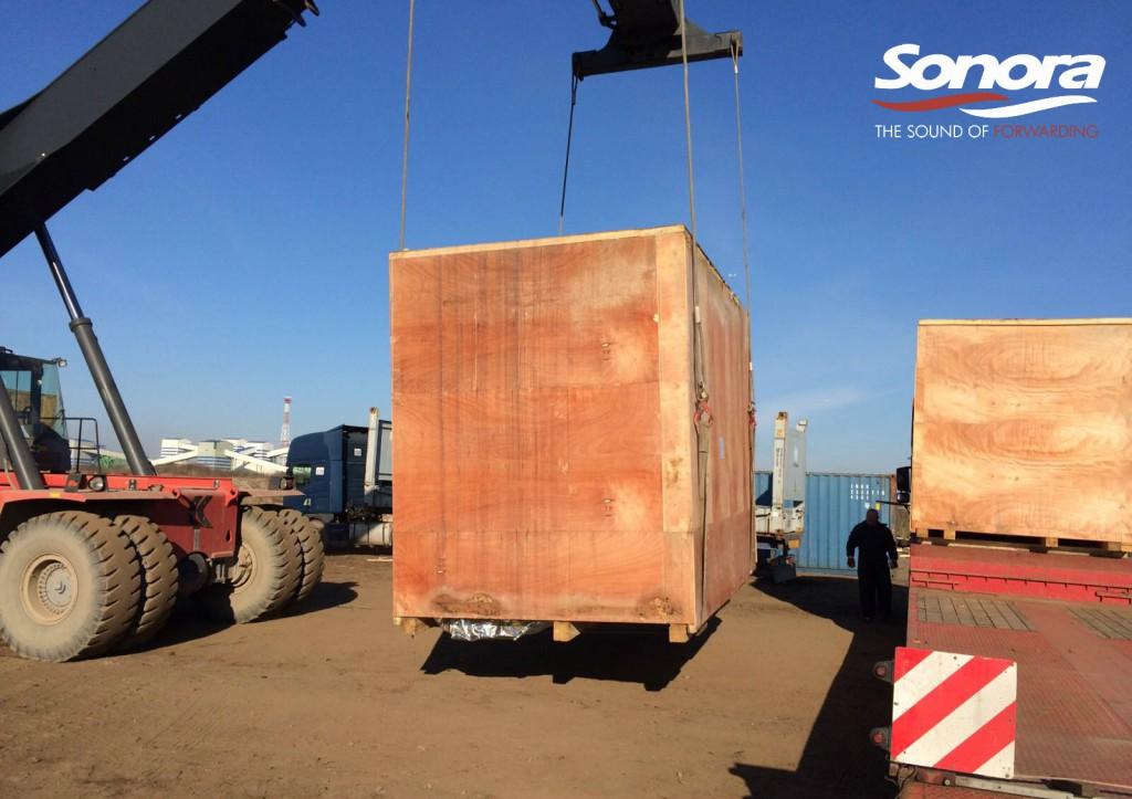 Еще один успешный Проектный Груз для компании SONORA