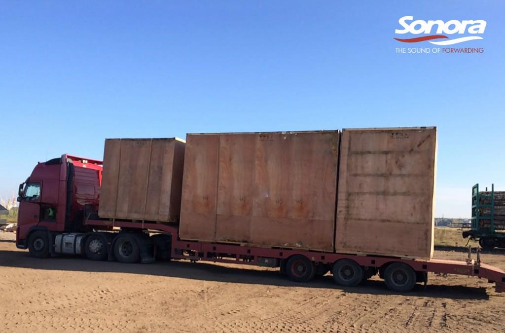 Project cargo sonora riga vitebsk