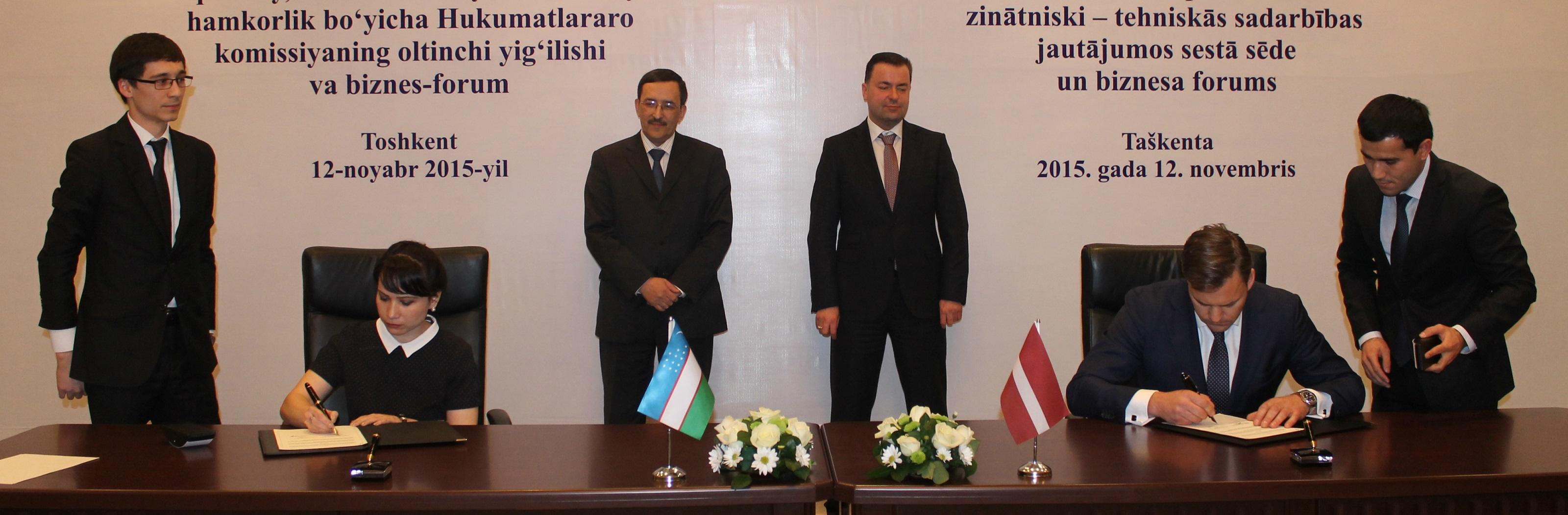 """J.Mozga: """"Preču eksports uz Uzbekistānu un kopuzņēmumu veidošana ir iespēja, kā apgūt NVS valstu tirgu"""""""