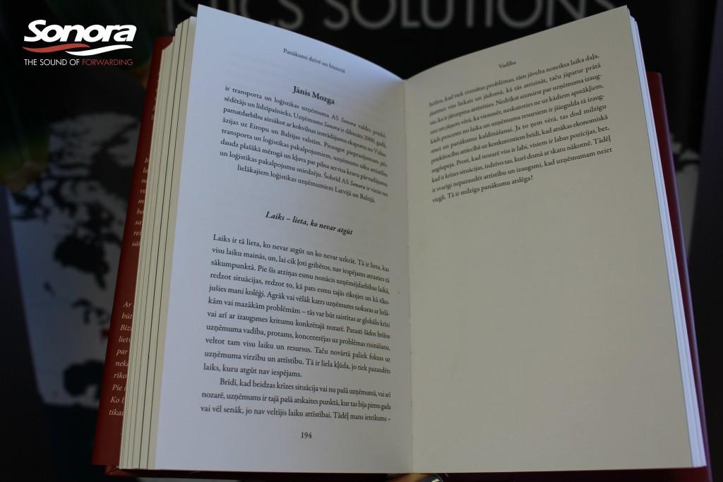 Karlis Ozols Panakumi Dzive un Biznesa