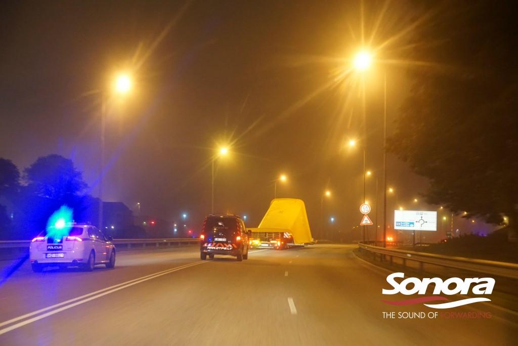 Policijas eskorts SONORA