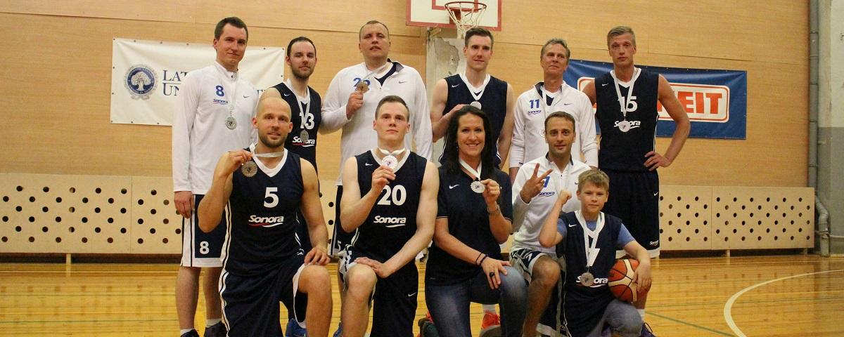 Jau šodien SONORA basketbola komanda aizvadīs pirmo spēli jaunajā sezonā