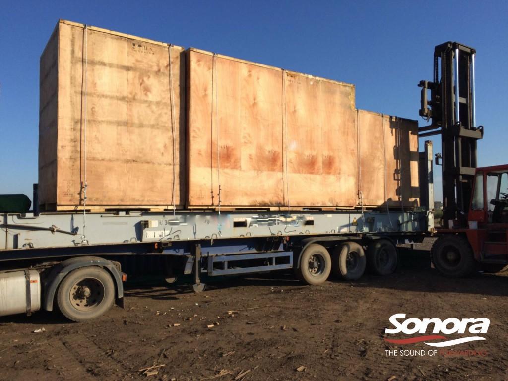 Vēl viens veiksmīgs Nestandarta kravu pārvadājums SONORA komandai