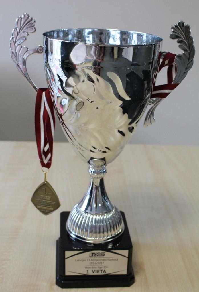 SONORA florbola komanda kārtējo reizi izcīna čempionu titulu