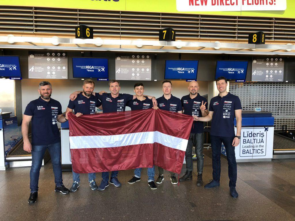 Rally Tashkent Riga2018 team
