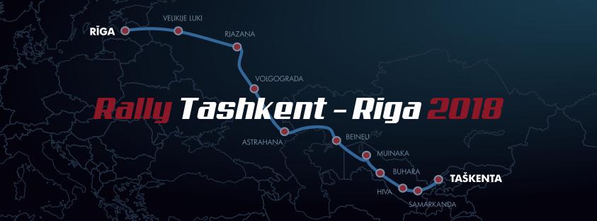 Rally Tashkent Riga 2018